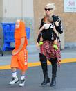 Gwen Stefani, Apollo Rossdale and Kingston Rossdale