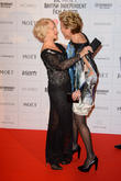 Dame Helen Mirren and Emma Thompson