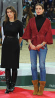 Fernanda Ameeuw and Charlotte Casiraghi