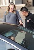Ali Larter leaves Barneys New York