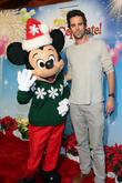 David Walton and Mickey Mouse