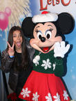 Roselyn Sanchez and Minnie Mouse