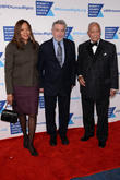 Grace Hightower, Robert De Niro and David Dinkins