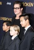 Brad Pitt, Pax Thien Jolie-pitt, Shiloh Nouvel Jolie-pitt and Maddox Jolie-pitt