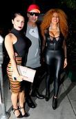 Ruby Palm, Lloyd Klein and Afida Turner