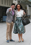Mark Wright and Bianca Miller