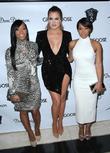 Kadija Haqq, Khloe Kardashian and Malika Haqq