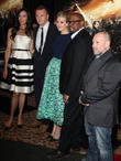 Famke Janssen, Liam Neeson, Maggie Grace, Forest Whitaker, Director and Olivier Megaton