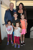 Neal McDonough, Ruve McDonough, Morgan Patrick McDonough, Catherine Maggie McDonough, London Jane McDonough and Clover Elizabeth McDonough