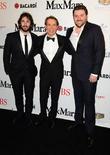 Josh Groban, Jeff Koons and Chris Young