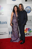 Lisa Edelstein and Robert Russell
