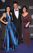 Julia Goldani Telles, Dominic West and Maura Tierney