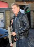 David Hasselhoff and Kitt Car From Knight Rider