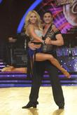 Thom Evans and Iveta Lukosiute