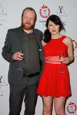 Steve Oram and Alice Lowe