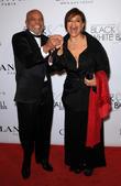 Berry Gordy and Debbie Allen