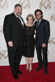Dean Deblois, Bonnie Arnold and Kit Harrington