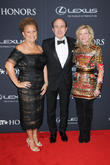 Debra Lee, Philippe Dauman and Deborah Dauman