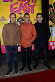 Chris Bisson, Ian Aspinall and Jimi Mistry