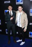Jonathan Tucker and Nick Jonas