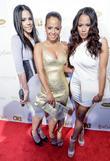 Elizabeth Flores, Christina Milian and Danielle Flores