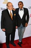 Clive Davis and Pharrell Williams