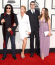 Gene Simmons, Shannon Tweed, Nick Simmons and Sophie Simmons