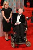 Stephen Hawking and daughter Lucy Hawking
