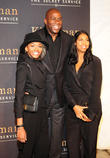 Magic Johnson, Earlitha Kelly and Elisa Johnson