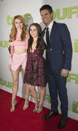 Bella Thorne, Mae Whitman and Robbie Amell