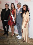 Kenneth Cole, Paulina Vega, Russell Simmons and Angela Simmons