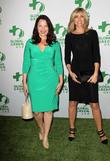 Fran Drescher and Marla Maples