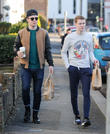 Eastenders, Jamie Borthwick and Danny-boy Hatchard