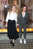 Amber Heard and Alice Temperley
