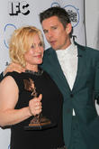 Patricia Arquette and Ethan Hawke