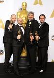 Paul Franklin, Andrew Lockley, Ian Hunter and Scott Fisher