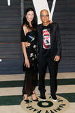 Liberty Ross and producer Jimmy Iovine