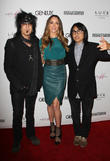 Nikki Sixx, Courtney Bingham and Steven Kamafuji