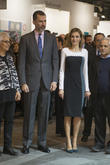 Spain's King Felipe and Queen Letizia