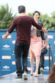 Rumer Willis and Mario Lopez