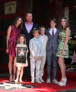 Caroline Fentress O'Donnell, Chris O'Donnell, Lily Anne O'Donnell, Charles McHugh O'Donnell, Finley O'Donnell, Maeve Frances O'Donnell and Christopher O'Donnell Jr