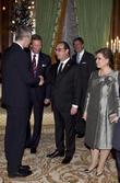 Francois Hollande and Grand Duc Henri