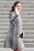 Kate Middleton Pays Royal Visit To The Set Of 'Downton Abbey'
