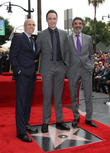 Jeffrey Katzenberg, Jim Parsons and Chuck Lorre