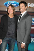 Keith Urban and Harry Connick Jr.