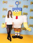 Imogen Thomas and Spongebob