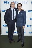 Matt Lauer and Jeremy Piven