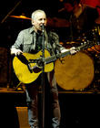 Paul Simon Performs Bridge Over Troubled Water At Democratic Convention