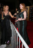 Brooke Anderson and Christina Hendricks