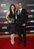 Patrick Fabian and Mandy Fabian